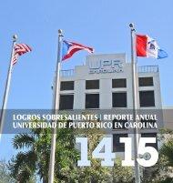 Revision 9- Manual_Logros Sobresalientes Reporte Anual2014 2015 UPR Carolina Dr Moises Orengo Rector