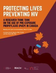 Protecting lives preventing hiv