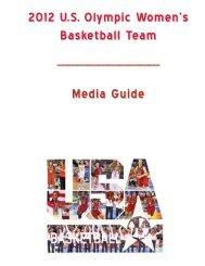 2012 U.S. Olympic Women's Basketball Team ... - USA Basketball