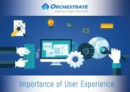 Importance of User Experience