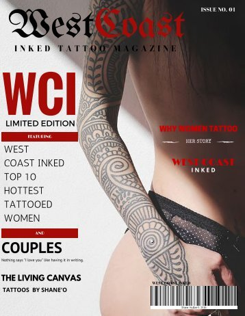 West Coast Inked Tattoo Magazine - Issue 01