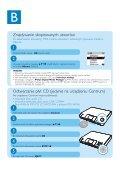 Philips Streamium Streamium Audio - Guide de mise en route - POL - Page 7