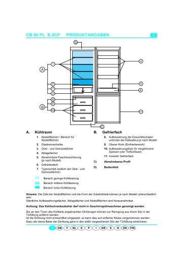 KitchenAid 900 162 33 CFS 616 S - Fridge/freezer combination - 900 162 33 CFS 616 S - Fridge/freezer combination DE (853940901010) Scheda programmi
