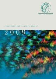 JAHRESBERICHT | ANNUAL REPORT - Max-Planck-Gesellschaft