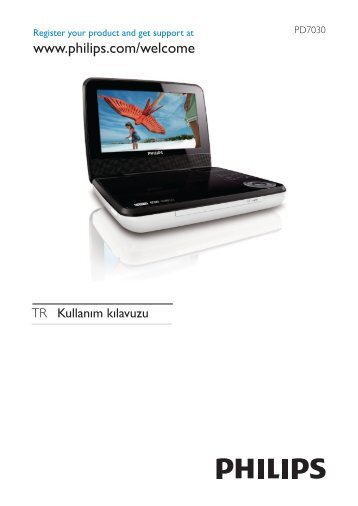 Philips Lecteur de DVD portable - Mode d'emploi - TUR