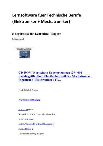 Automatiker: Technische Berufe + Elektroniker + Mechatroniker (Nachschlagewerke englisch Woerterbuch Zeichnungen Fotos  Symbole Grafiken Glossar)