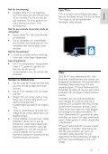 Philips 3500 series Téléviseur LED Smart TV - Mode d'emploi - SWE - Page 7