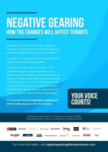 NEGATIVE GEARING
