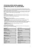 KitchenAid 20RA-D3 SF - Side-by-Side - 20RA-D3 SF - Side-by-Side TR (858641236000) Istruzioni per l'Uso - Page 5