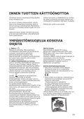 KitchenAid 20RA-D3 SF - Side-by-Side - 20RA-D3 SF - Side-by-Side FI (858641236000) Istruzioni per l'Uso - Page 2