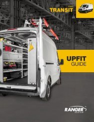Ford Transit Upfit Guide