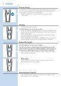 Philips Shaver series 9000 Rasoir électrique rasage à sec ou sous l'eau - Mode d'emploi - BUL - Page 6