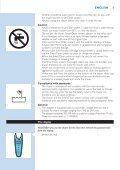Philips Shaver series 9000 Rasoir électrique rasage à sec ou sous l'eau - Mode d'emploi - POL - Page 5
