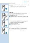 Philips Shaver series 9000 Rasoir électrique rasage à sec ou sous l'eau - Mode d'emploi - POL - Page 7