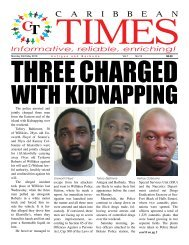 Caribbean Times 13th Issue - Monday 23rd May, 2016