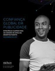 CONFIANÇA GLOBAL EM PUBLICIDADE