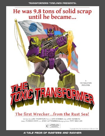 Transformers Timelines Presents A Tale from Of Masters and Mayhem