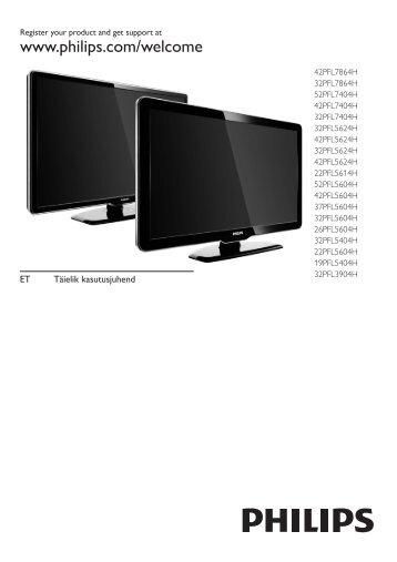 Philips TV LCD - Mode d'emploi - EST