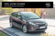 Opel Zafira Infotainment Manual MY 16.5 - Zafira Infotainment Manual MY 16.5 manuale
