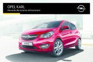 Opel KARL Infotainment Manual MY 16.5 - KARL Infotainment Manual MY 16.5 manuale