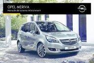 Opel Meriva Infotainment Manual MY 16.5 - Meriva Infotainment Manual MY 16.5 manuale