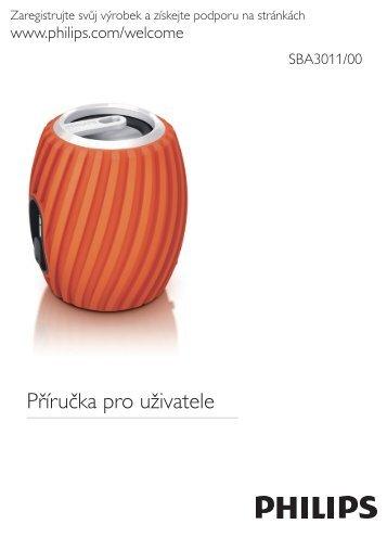 Philips Enceinte portable - Mode d'emploi - CES