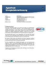 Agrarfrost Agrarfrost -  Janitza Electronics GmbH