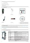 Philips Baladeur audio à mémoire flash - Mode d'emploi - FIN - Page 6