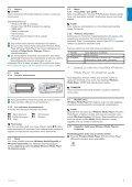 Philips Baladeur audio à mémoire flash - Mode d'emploi - FIN - Page 7