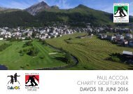 PAUL ACCOLA CHARITY GOLFTURNIER DAVOS 18 JUNI 2016