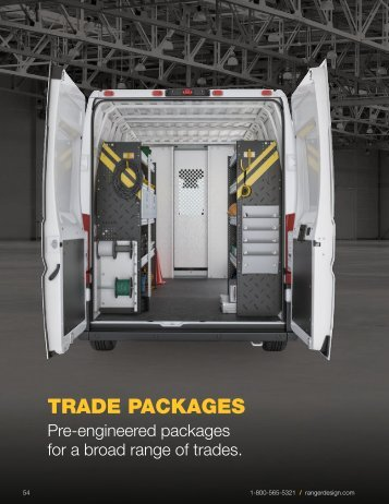 Ranger Design 2017 Trade Packages Buyer's Guide