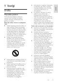 Philips 3100 series Téléviseur LED ultra-plat - Mode d'emploi - LAV - Page 3