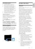 Philips 3100 series Téléviseur LED ultra-plat - Mode d'emploi - LAV - Page 5