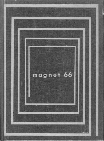 1966 Magnet Yearbook