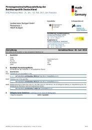Firmengemeinschaftsausstellung der Bundesrepublik Deutschland