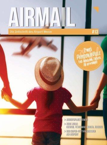 Airmail # 13 - Die Zeitschrift des Airport Weeze