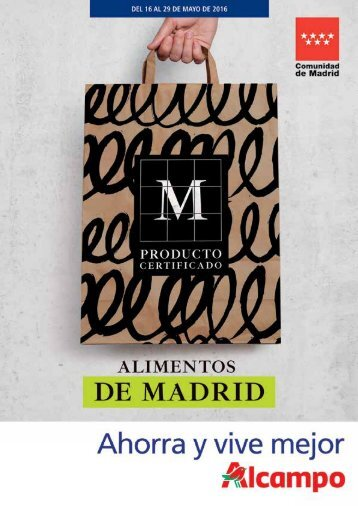 36039_FOLLETO_MADRID_16_PAG_ALCAMPO_2016_SIN_FALDON.indd 1 06/05/16 17:37
