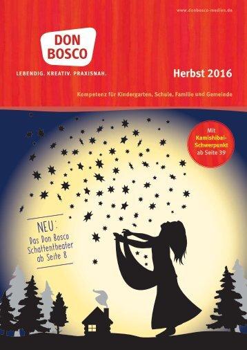 Vorschau Don Bosco Verlag Herbst 2016