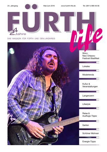 Fürth Life Mai/Juni 2016