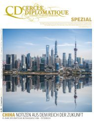 CERCLE DIPLOMATIQUE - CHINA SPEZIAL