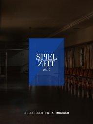 Bielefelder Philharmoniker Spielzeit 2016/17