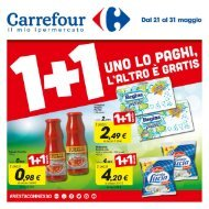 Carrefour Sassari 21-31 Maggio 2016