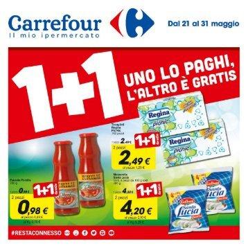 Carrefour S. Sperate 21-31 Maggio 2016
