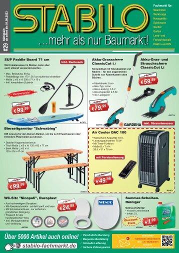 Detec Handels GmbH - Werbeprospekt KW 21-22