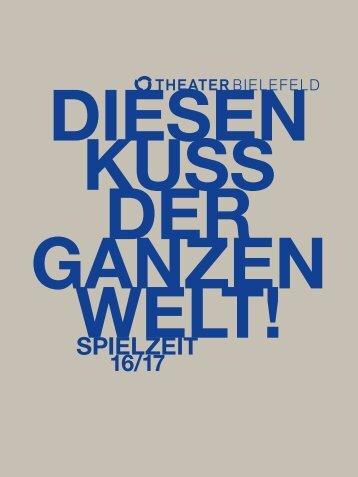 Theater Bielefeld Spielzeitheft 2016/17