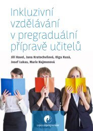 Inkluzivní vzdělávání v pregraduální přípravě učitelů