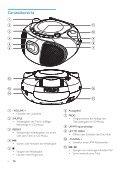 Philips Lecteur de CD - Mode d'emploi - DEU - Page 5