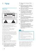 Philips Streamium Lecteur audio sans fil - Mode d'emploi - DAN - Page 3