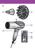 Philips Sèche-cheveux - Mode d'emploi - KOR - Page 3