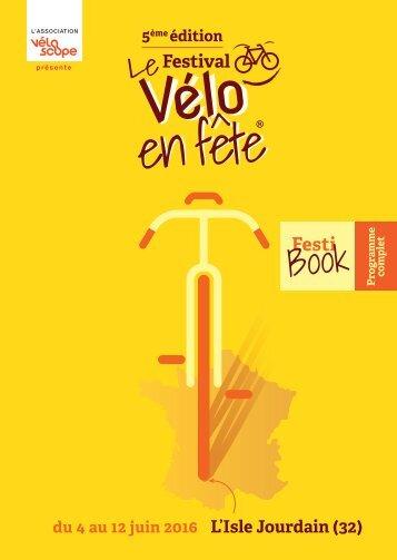 Festival Vélo en fête 2016 - Le Programme